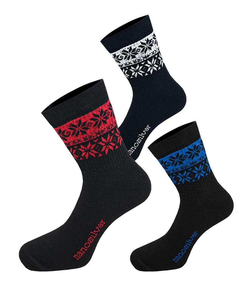 Ponožky NORDIC s merino vlnou